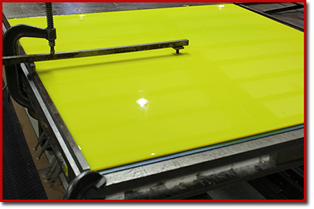 spincast urethane sheets