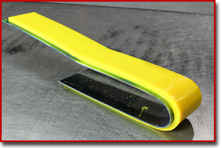 fork lift urethane toe guard
